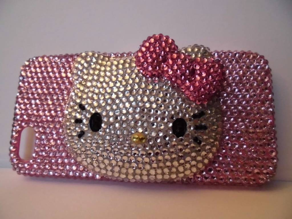 Hello Kitty Iphone 5 kristallen case