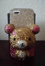 Iphone 5 Schattige teddybeer case
