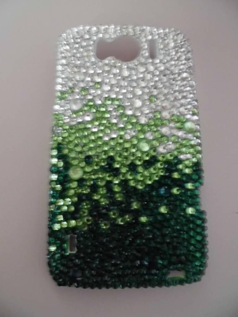 Groen/zilver,Samsung Galaxy Note 2
