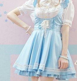 Lolita blauwe jurk