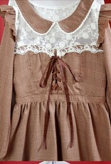 Lolita bruine jurk