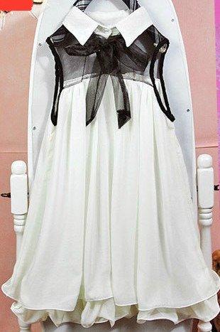 Lolita witte jurk
