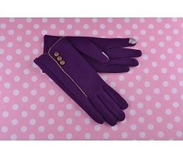 Dames,paarse y0uchscreen handschoenen