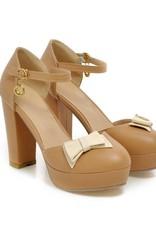 Lolita schoen Bruin