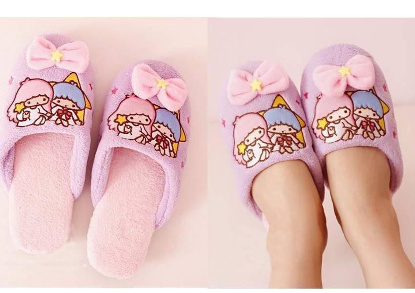 Little Twin Stars Slippers