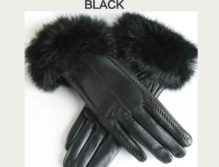 Dameshandschoen  zwart