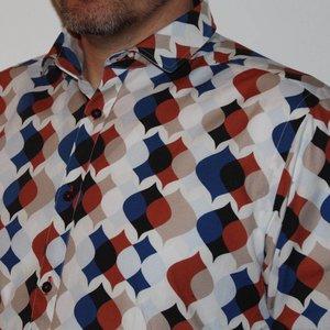Overhemd Retro Drips