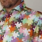 Overhemd Puzzled