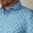 Overhemd Blue Diamonds