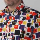 Overhemd Mighty Mondriaan