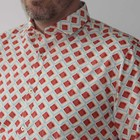 Overhemd Wavy Flow