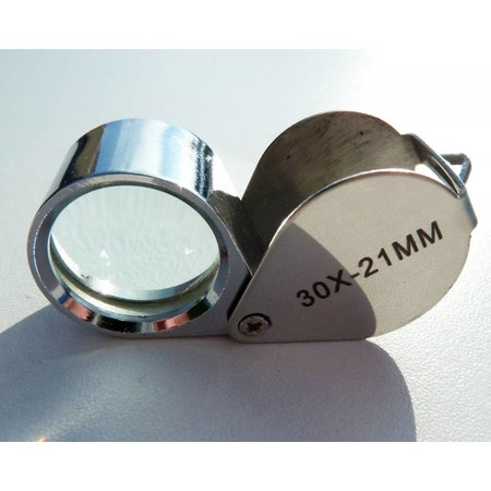 Just magnifier loupe, 30 x 21mm 30x magnification