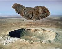 Canyon Diablo meteoriet uit de Arizona krater
