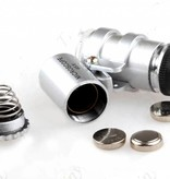 Mini microscope 45x with led