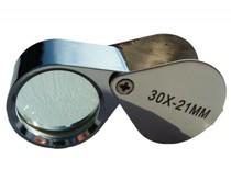 Enkel vergrootglas, 30 x 21mm