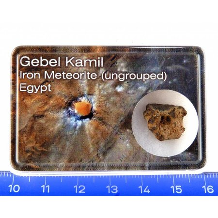 Gebel Kamil iron meteorite in gift box