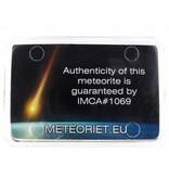 VD06 Gibeon iron meteorite in giftbox