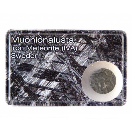 Muonionalusta meteorite in giftbox