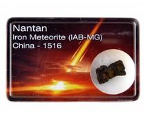 Nantan meteoriet in doosje