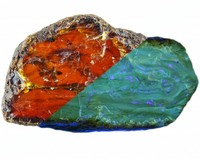 Amber from Sumatra, Indonesia