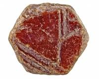 Ruwe robijn kristallen uit Kenia