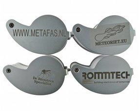 Magnifiers with own engraving