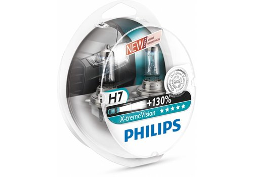 Philips XTreme Vision H7 +130% Set