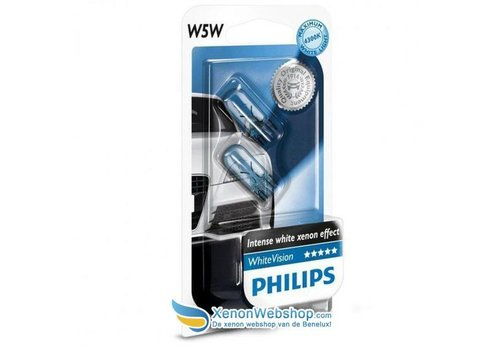 Philips 12961BVB2 W5W Blue Vision