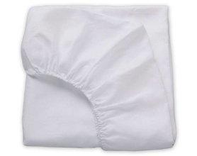 Lysdrap hoeslaken Luxe Perkaal Wit