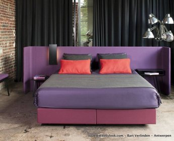 Magnitude boxspring bed Area by Alain Gilles