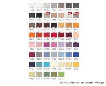 Bella Donna hoeslaken Bella Donna Jersey - 54 kleuren