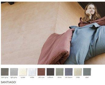 Libeco hoeslaken Santiago - 10 kleuren