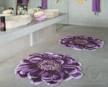 Habidecor badmat Fiore 125 cm rond
