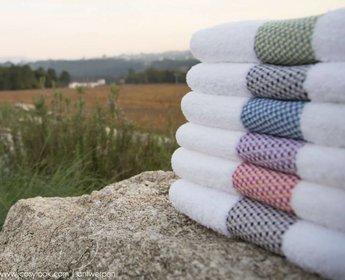 Abyss badhanddoek Tweed