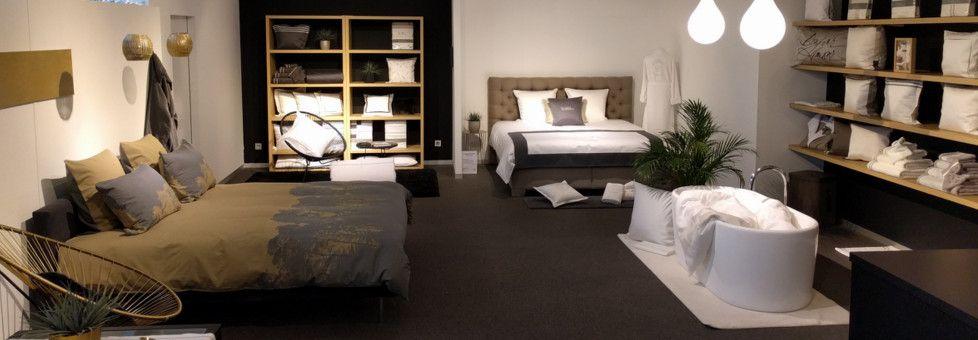 Mooi bedlinnen in satijn, linnen, luxe perkaal en zijde.