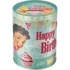 Nostalgic Art Money Box Happy Birthdays