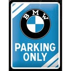 Nostalgic Art Tin Sign 15x20 BMW Parking Only