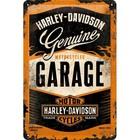 Nostalgic Art Tin Sign Harley Davidson Garage 20x30