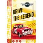 Nostalgic Art Tin Sign Mini Drive The Legend 20x30