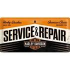 Nostalgic Art Tin Sign 50x25 Harley Davidson Service and Repair
