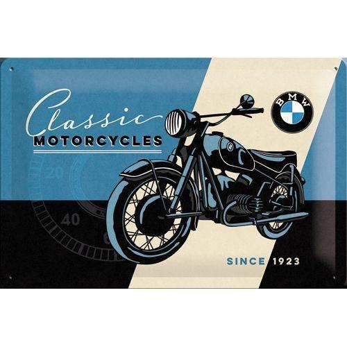 Nostalgic Art Tin Sign BMW Classic X Shop America - Bmw motorcycle tin signs