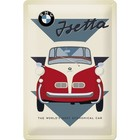 Nostalgic Art Tin Sign BMW Isetta Car 20x30