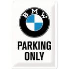 Nostalgic Art Tin Sign BMW Parking 20x30