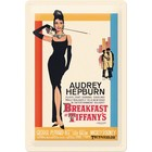 Nostalgic Art Tin Sign Breakfast at Tiffanys 20x30