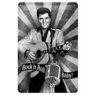 Nostalgic Art Tin Sign Elvis - Rock n Roll Baby 20x30