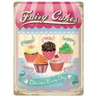 Nostalgic Art Tin Sign Fairy Cakes 30x40