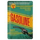 Nostalgic Art Tin Sign Gasoline The Bikers Choice 20x30