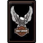 Nostalgic Art Tin Sign Harley Davidson Eagle 20x30