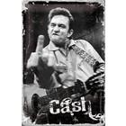 Nostalgic Art Tin Sign Johnny Cash - Finger 20x30