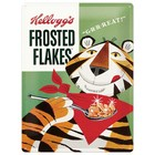 Nostalgic Art Tin Sign Kelloggs Sugar Frosted Flakes 30x40